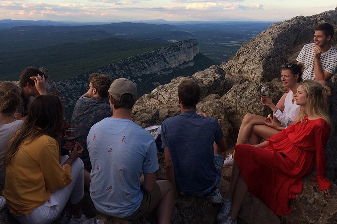 "Hike to the top of ""Pic Saint Loup"" and a wine tasting"
