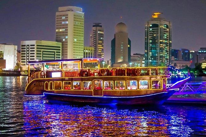 Dhow Cruise Dubai Marina With Dinner Buffet