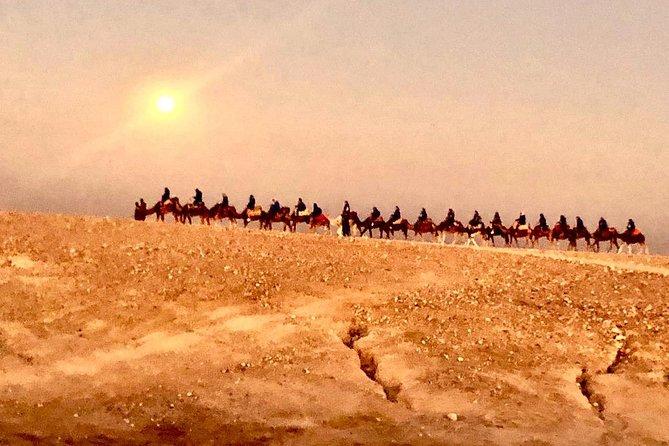 Sunset Camel Ride & Dinner at Agafay Marrakech Desert