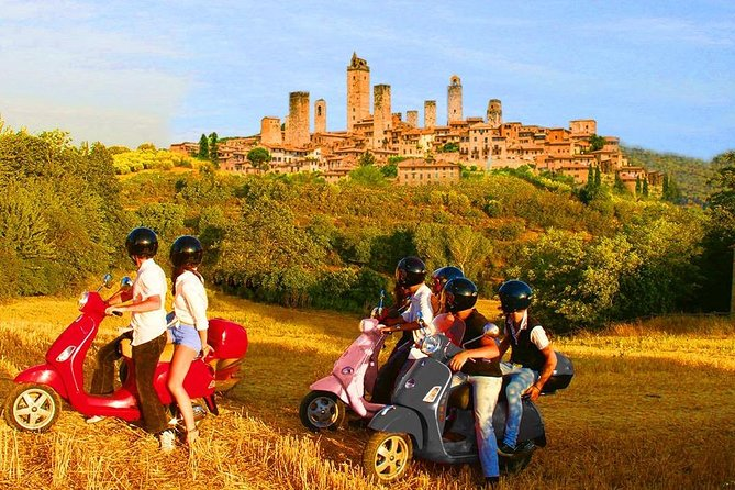 Shore Excursion from Livorno to Tuscany included Vespa Tour - Ultimate Tour