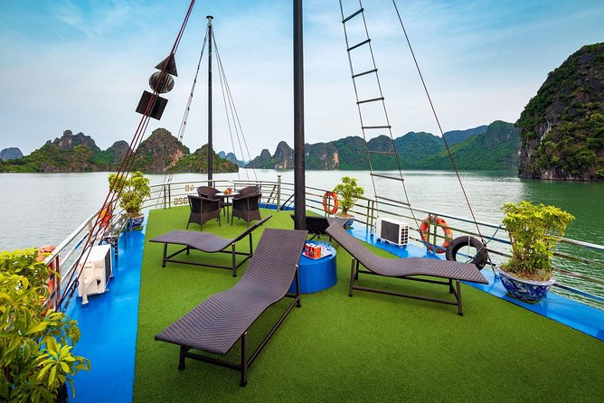 Ha Long Premium Cruise- Full Day with Expressway-Lunch-Explore Cave-Titop Island photo 2
