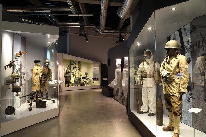 Entrada al Museo de Guerra de Bastoña