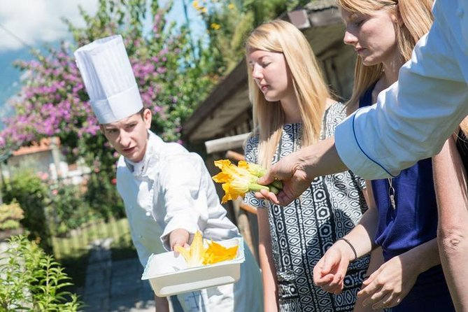 Een exclusieve kookles in Bellagio, aan het Comomeer