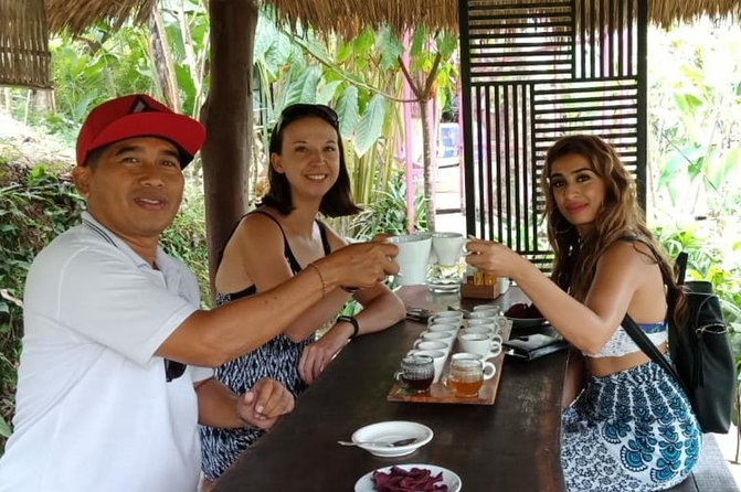 From Keramas : Private Guided Tour to Discover Ubud Best Point - Free WiFi