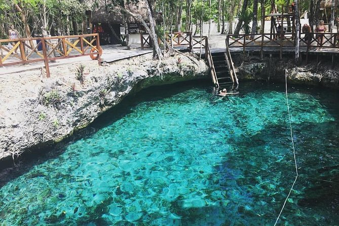 ONE DAY OF 5 PLACES: Kaan Luum Lagoon, 2 Cenotes, Tulum and Playa del Carmen photo 11