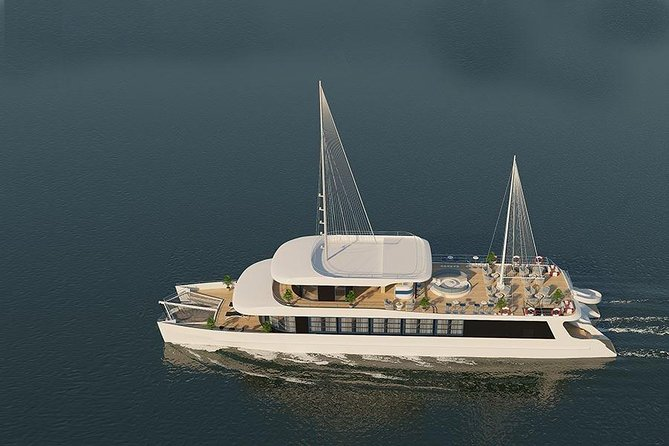 The Catamaran - Luxury Full Day Cruise To Halong Bay & Lan Ha Bay