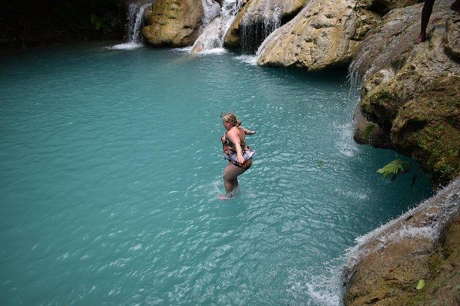 Blue Hole plus Secret Falls & Dunns River Falls from Grand Palladium