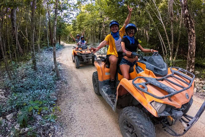 Shore Excursions ATV Adventure to Jade Cavern