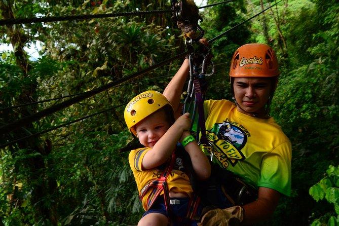 6 Cable Canopy Tour & Tarzan Swing