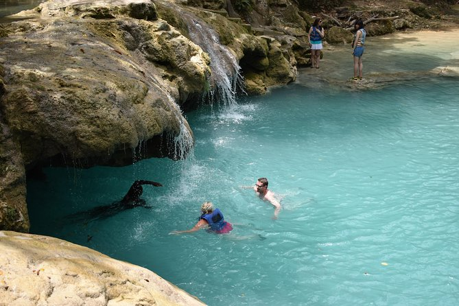 Blue Hole and Secret Falls Day Trip plus Shopping from Montego Bay Hotels