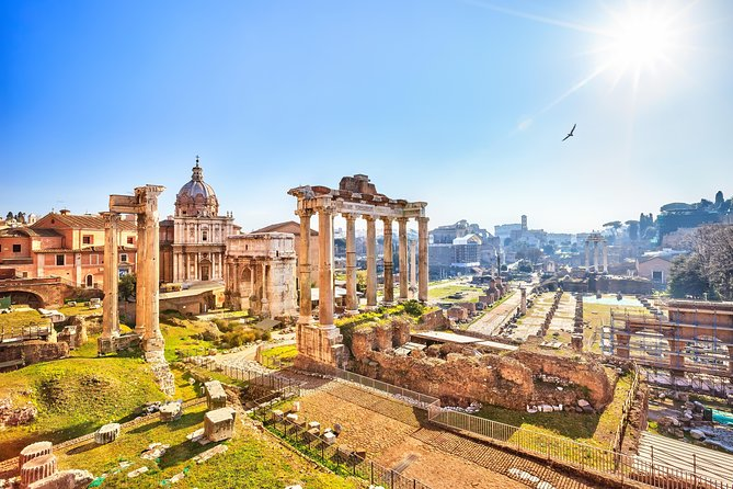 Imperial Forum Private Walking Tour incl. Trajan's Market with Francesca