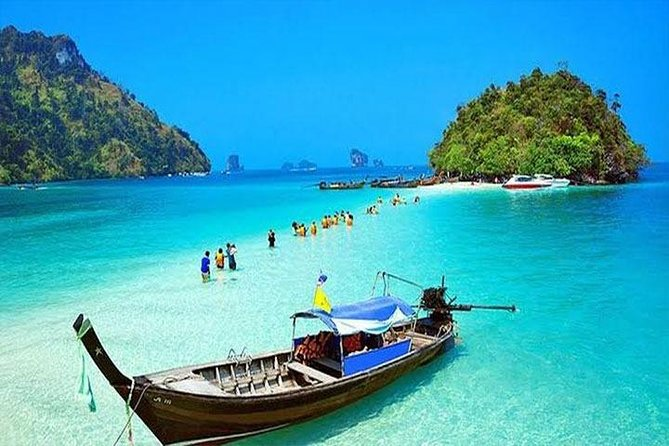 4 Island Tour by Longtail Boat from Krabi