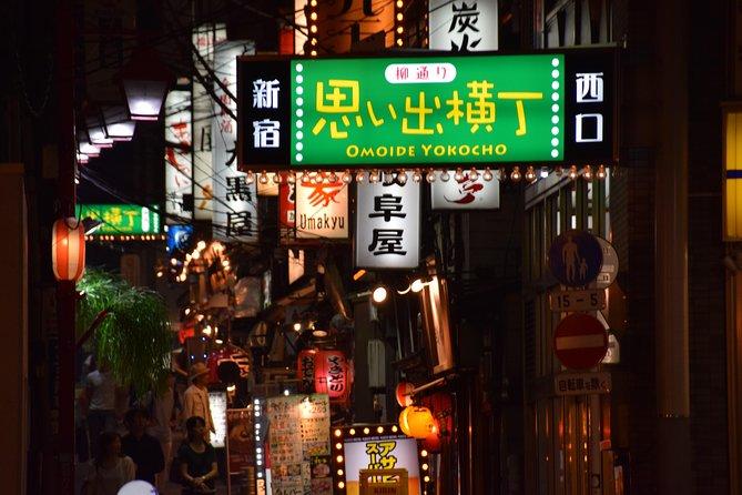 Shinjuku Kabukicho evening highlight walking Tour