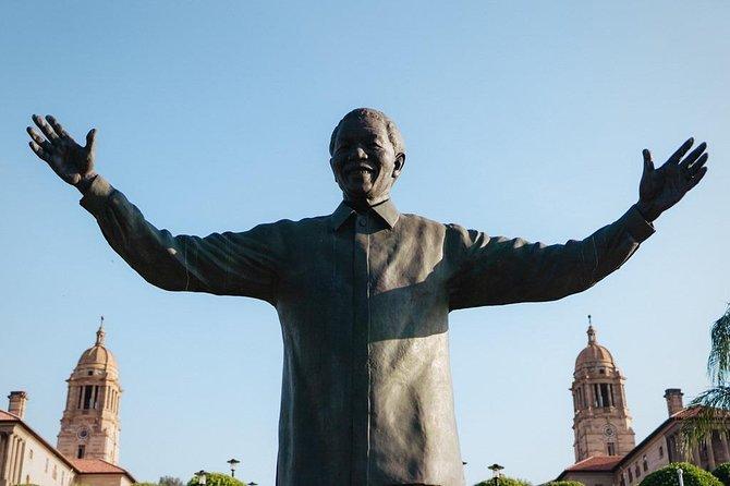 Pretoria - Union Buildings, former Pres Nelson Mandela