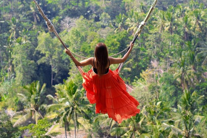 Ubud Highlight with Jungle Swing (Lunch,Entrance fee all inclusive)