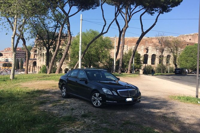 Transfer from Ciampino airport to central Rome
