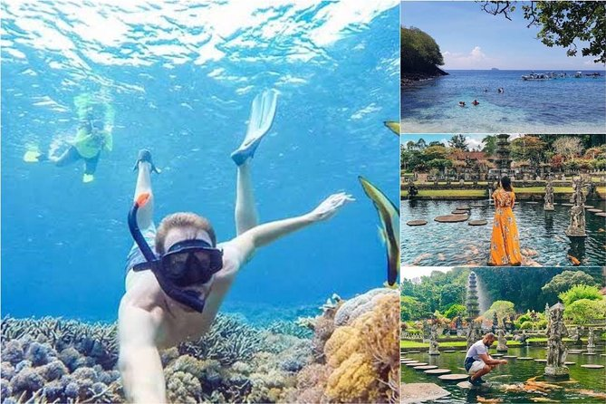 Bali Best Snorkeling at Blue Lagoon - Tirta Gangga - Tukad Cepung Waterfall