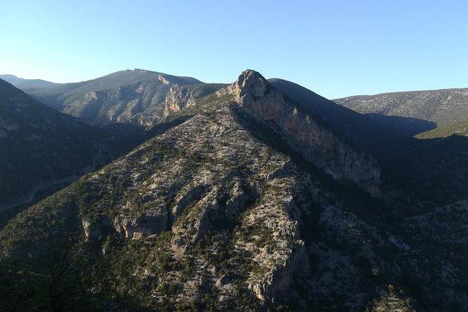 Hiking Kosmas Arcadia path of Parnon Trail