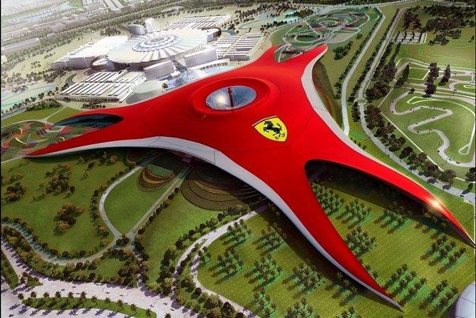 ABU DHABI CITY TOUR WITH FERRARI WORLD (With Transportation)