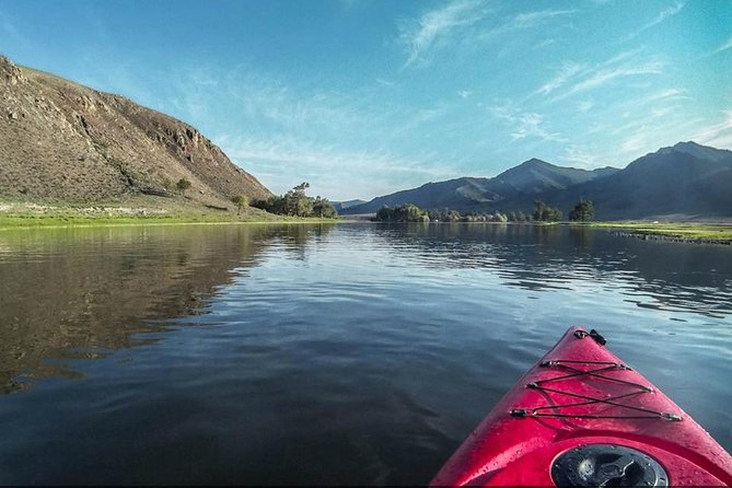 Active adventure by lake Khuvsgul