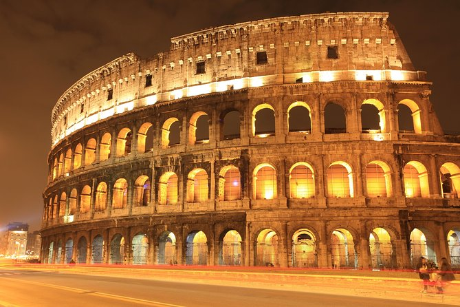 Colosseum: underground night guided tour with Skip-the-line entry