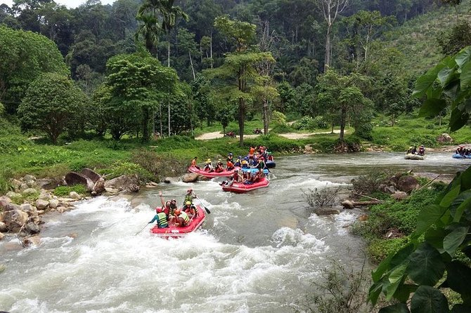 White Water Rafting Adventure Tour From Phuket