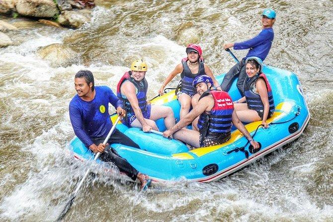 9 km White Water Rafting + ATV 1 Hour Tour From Phuket