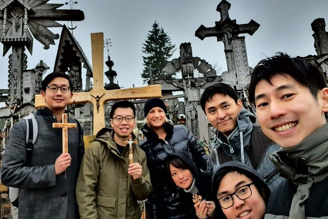 Sunrise at the Hill of Crosses - 2 countries in 1 day