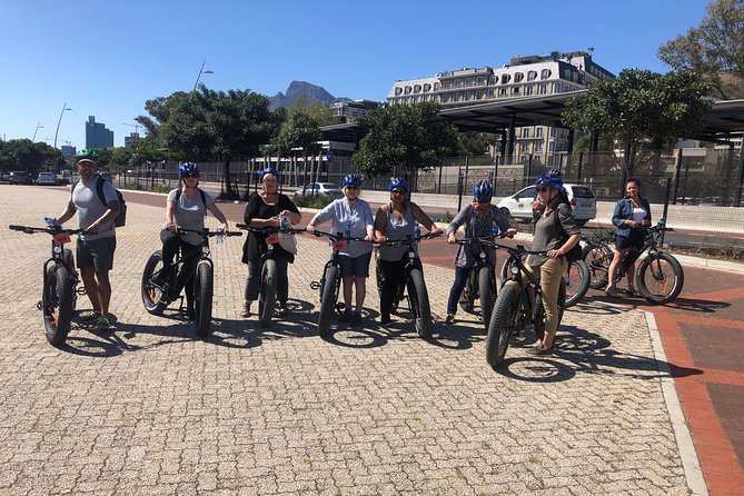 E-BIKE City Tour Cape Town half day