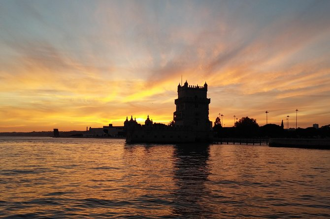 Sunset in Lisbon by Boat photo 6