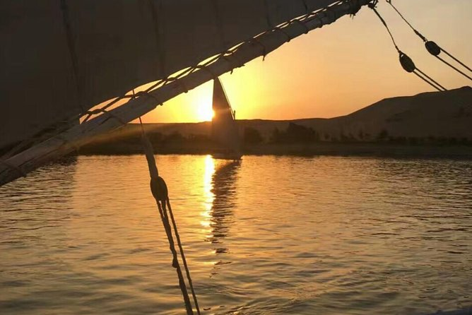 Private Egyptian Felucca ride on the Nile at sunset in Cairo photo 1