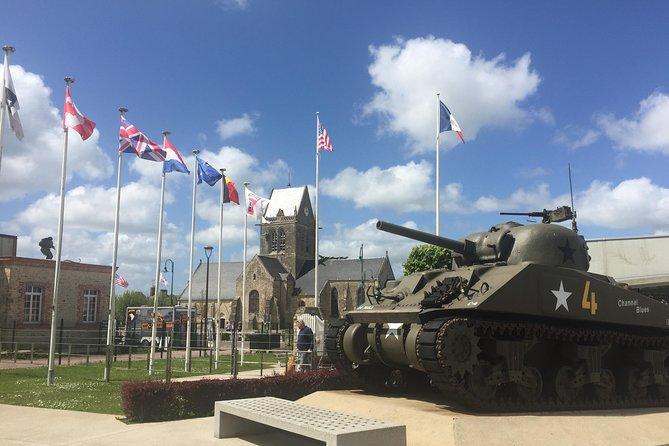 The Battle of the Bulge tour+Normandy D-Day Beaches +Option Mont-Saint-Michel