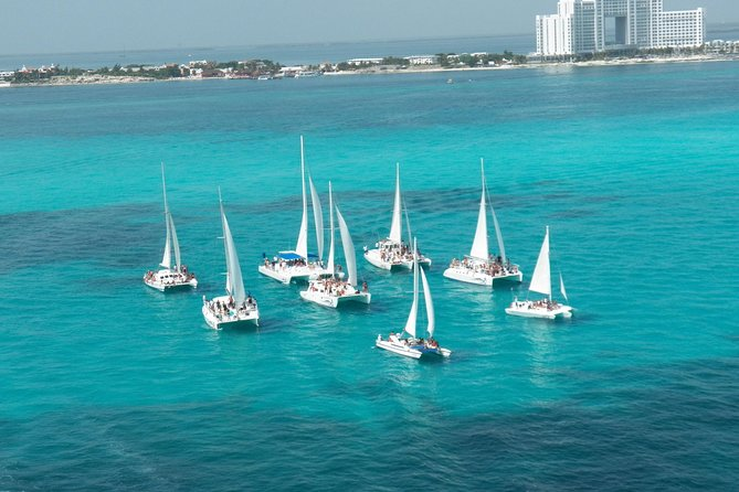Isla Mujeres catamaran adventure!!