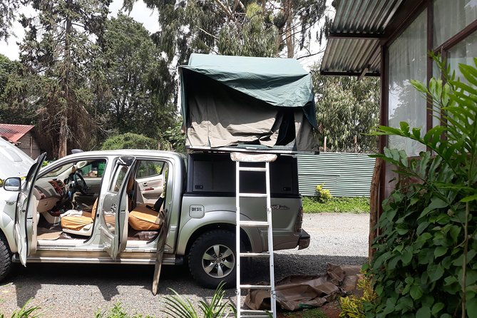 Hilux For Hire with Camping Equipment, Kenya