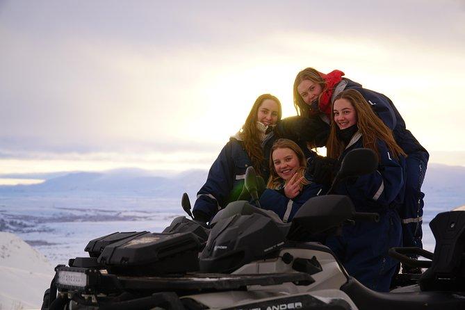 2hr Twin Peaks ATV Adventure from Reykjavik