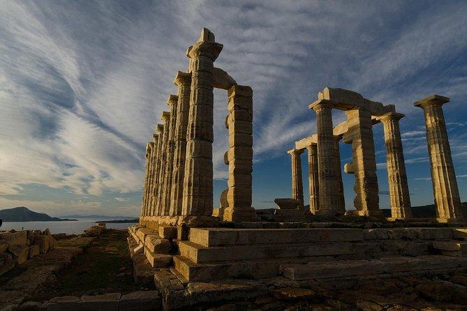From Athens: Half day tour to Temple of Poseidon, Cape Sounio (Athens Riviera)