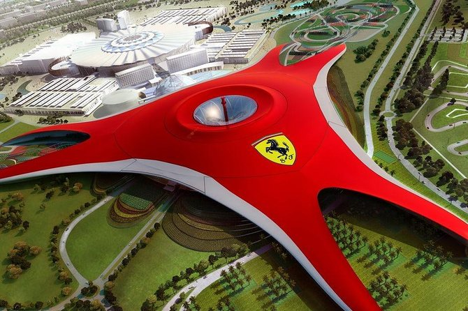 Abu Dhabi City Tour with Ferrari world Full Day