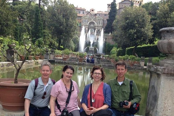 Villa D'Este and Tivoli from Rome Skip-The-Line Tickets Included
