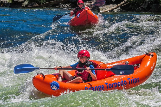Kids love kayaking the Rogue River