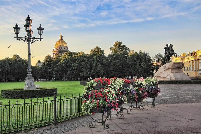 St Petersburg Port of Call: Active 1-Day Tour with Guide