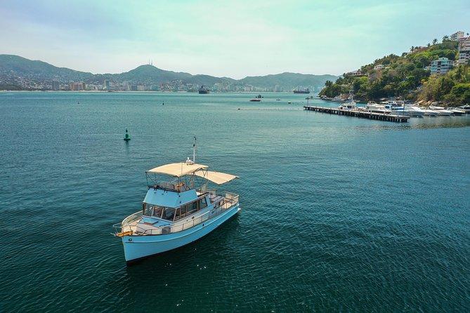 Excursión privada: paseo en barco turístico en Acapulco