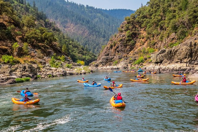Enjoying canyons on the Rogue River