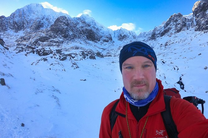 Winter Mountaineering Skills, become confident with ice axe and crampons