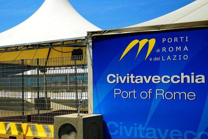Rome: Civitavecchia Port - Private Cab Service
