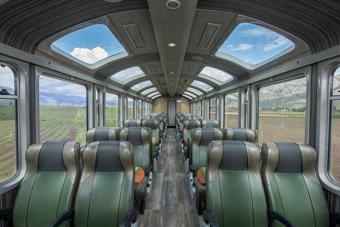 PeruRail Vistadome Panoramic Train to Machu Picchu