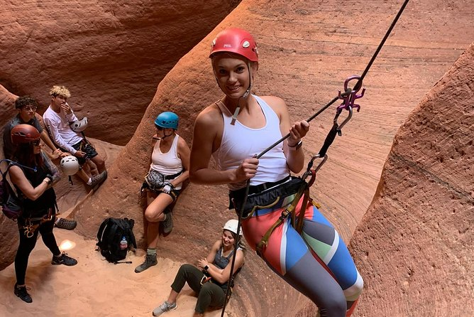 East Zion Experiences 4 Hr Canyoneering Rappelling UTV Tour photo 8