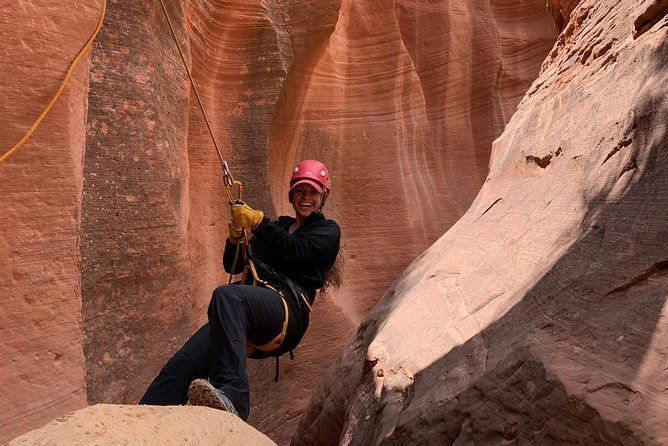 East Zion Experiences 4 Hr Canyoneering Rappelling UTV Tour photo 6