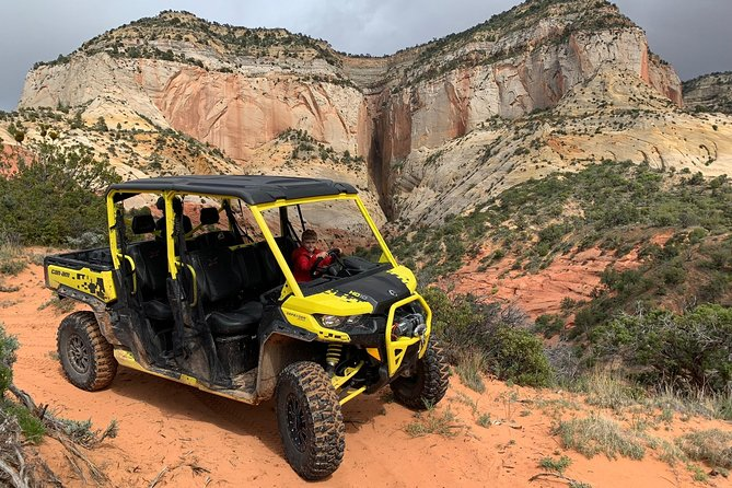 East Zion Experiences 4 Hr Canyoneering Rappelling UTV Tour photo 3