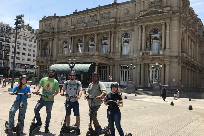 Electric Scooter Tour: North Buenos Aires.