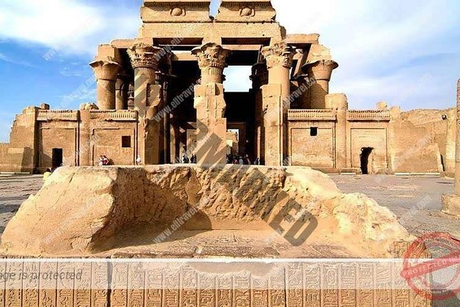 A tour to Kom Ombo and Edfu Temples from Aswan